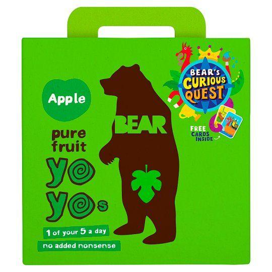 Bear Pure Fruit Yoyo Apple 5 X 20g