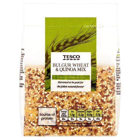 Tesco Bulgur Wheat & Quinoa Mix 300g