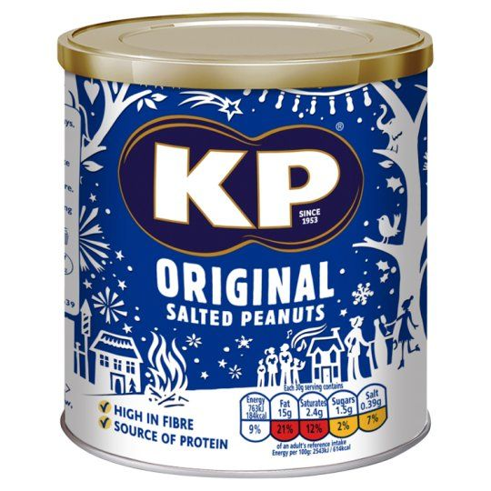 Kp Original Salted Peanuts 375g