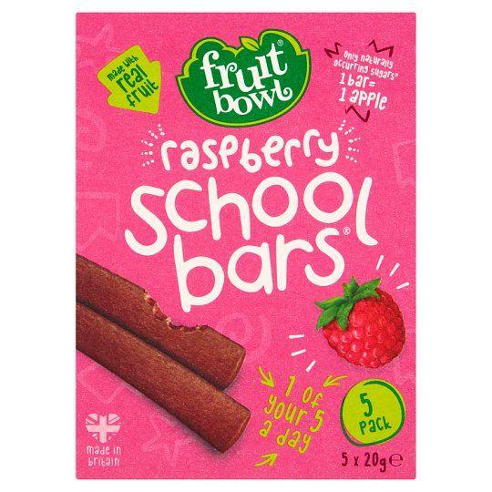 Fruit Bowl School Bars Raspberry 100g