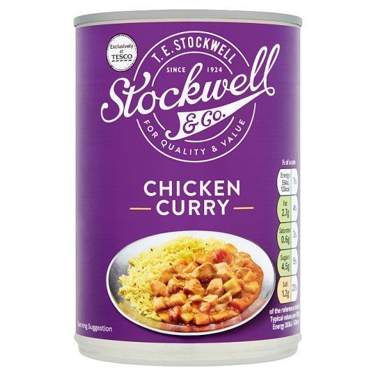 Stockwell & Co Chicken Curry With Vegetable 392g