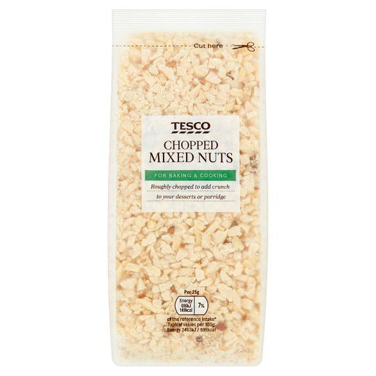 Tesco Chopped Mixed Nuts 200g