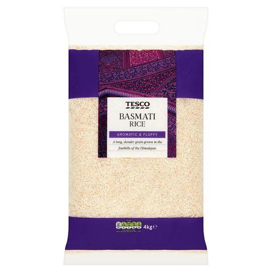 Tesco Basmati Rice 4kg