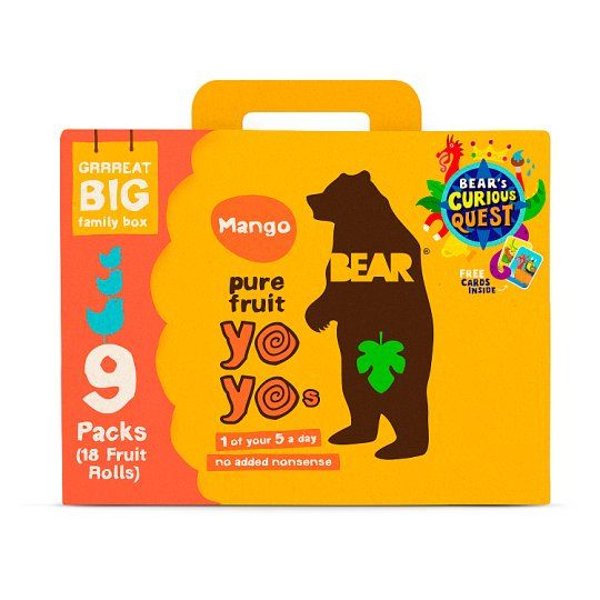 Bear Yoyo Mango 9Pack 180g