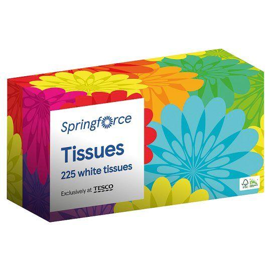 Springforce Regular Tissues 225 Sheets