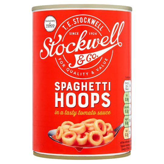 Stockwell and Co Spaghetti Hoops 410g