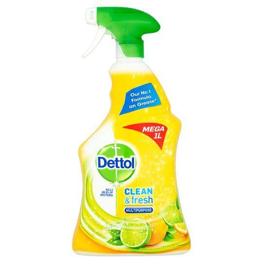 Dettol Power and Fresh Spray Citrus 1L