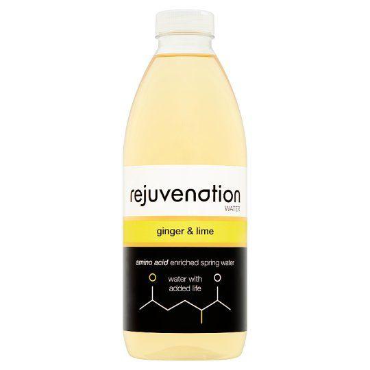 Rejuvenation Water Ginger and Lime 1L