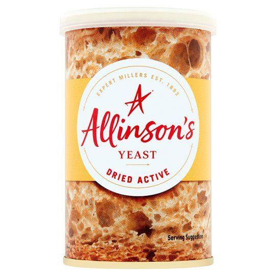 Allinson Dried Active Baking Yeast 125g