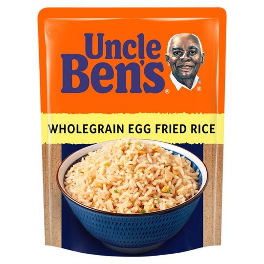 Uncle Bens Microwave Wholegrain Egg Fried Rice 250g