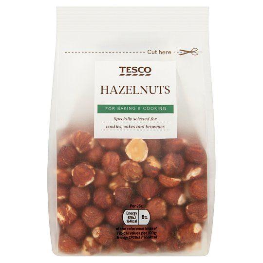 Tesco Whole Hazelnuts 200g