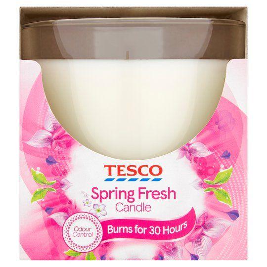 Tesco Candle Spring Petals