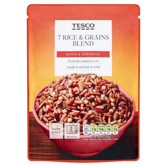 Tesco Blend of 7 Rice & Grains 250g