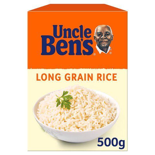 Uncle Bens Long Grain Rice 500g
