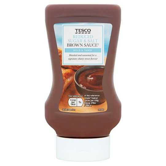 Tesco Reduced Sugar & Salt Brown Sauce 460g