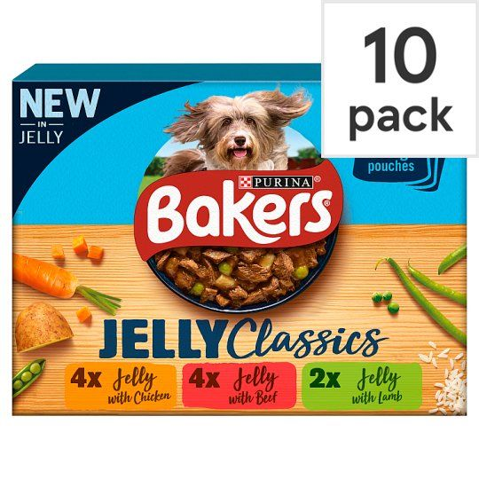 Bakers Home Classics Mixed In Jelly 1kg 10 Pack