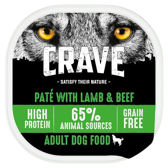 Crave Dog Food High Protein Lamb and Beef 300g