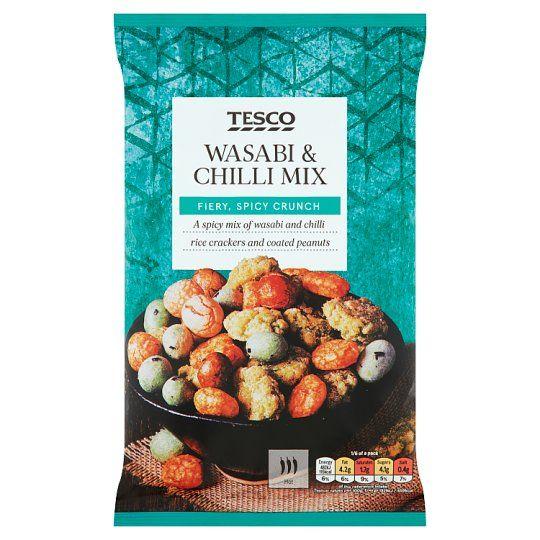 Tesco Wasabi & Chilli Mix Sncks 150g