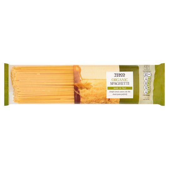 Tesco Organic Spaghetti Pasta 500g