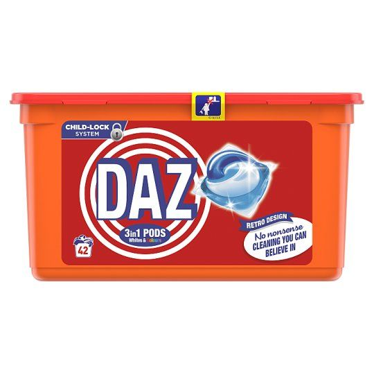 Daz Go Pods Washing Capsules 42 Washes