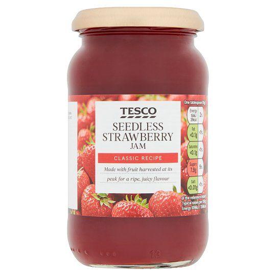 Tesco Strawberry Seedless Jam 454g