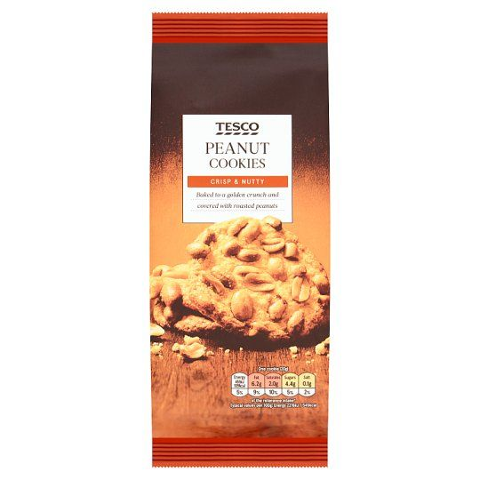 Tesco Peanut Cookies 200g