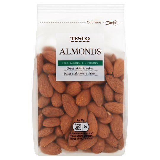 Tesco Whole Almonds 200g