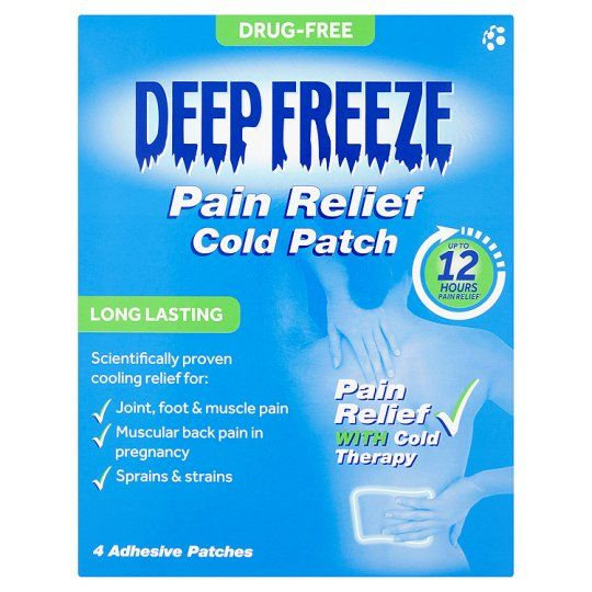 Deep Freeze Cold Patch 4S