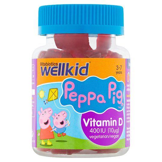 Wellkid Peppa Pig Vitamin D Soft Jellies X30