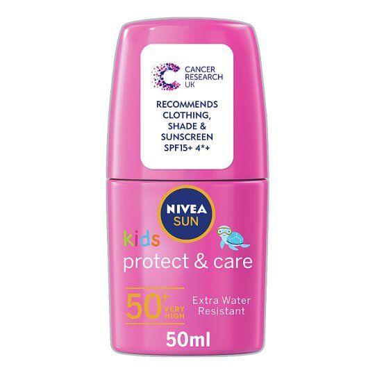 Nivea Sun Kids Pink Roll On Spf50+ 50ml