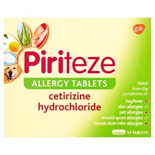 Piriteze Allergy Allergy 14S