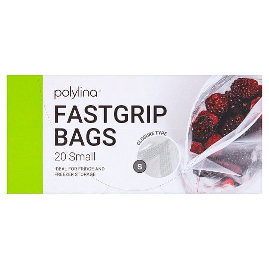 Polylina 20 Small Fastgrip Bags