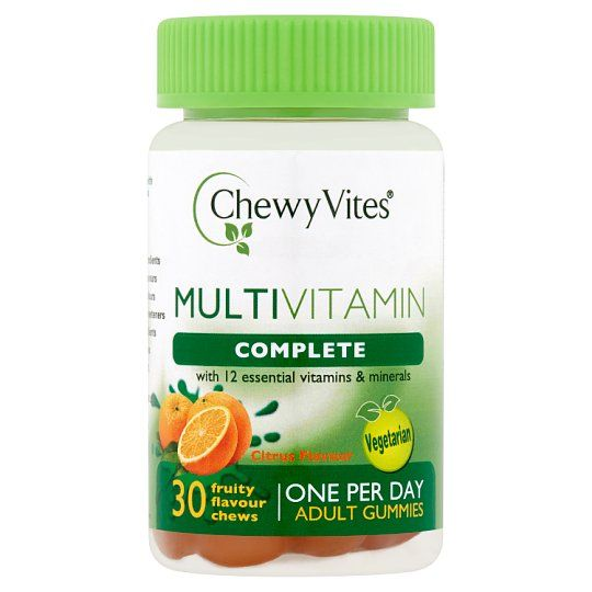 Chewy Vites Adult Multivits Citrus 30S