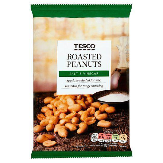 Tesco Salt and Vinegar Peanuts 200g