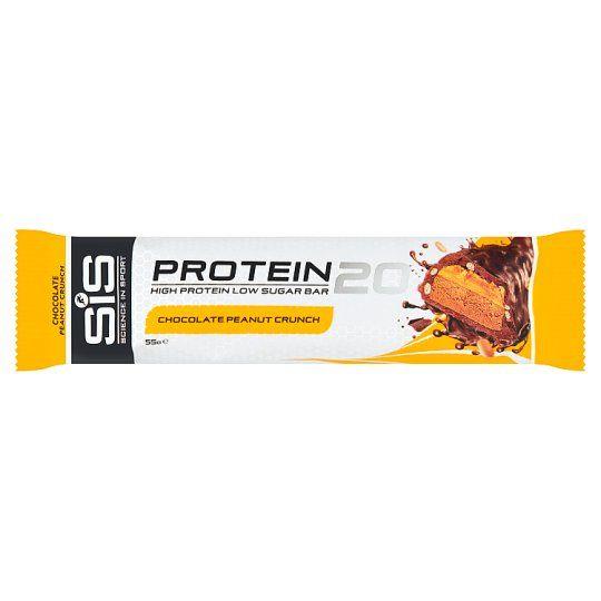 Sis. Protein20 Bar Chocolate Peanut Crunch 55g