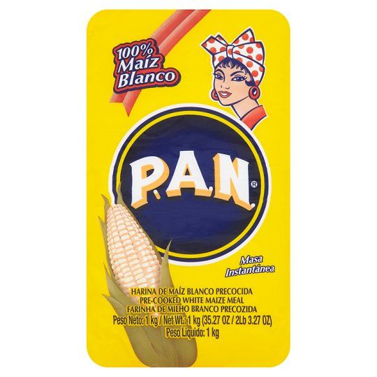 Pan Pre-Cooked White Maize Meal 1kg