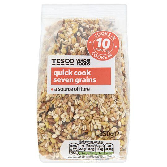 Tesco Wholefoods Quick Cook Seven Grains 250g