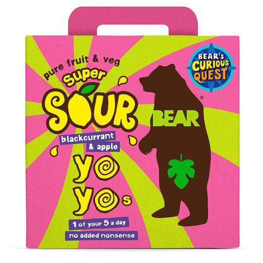 Bear Yoyo Sours Blackcurrant & Apple 100g