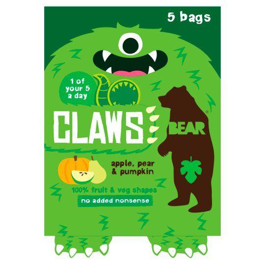 Bear Claws Apple Pear Pumpkin 5X18g