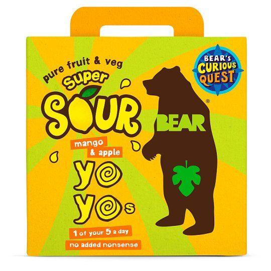 Bear Yoyo Sours Mango & Apple 5X20g