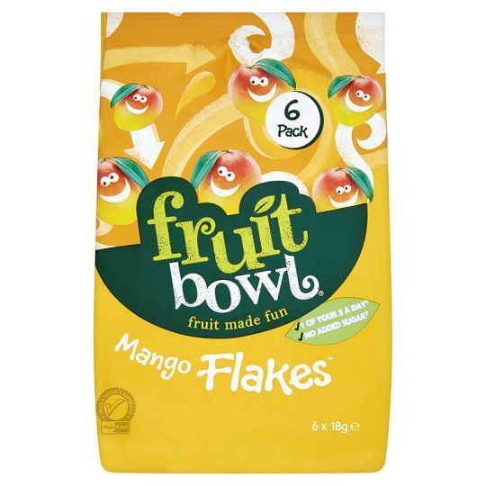 Fruit Bowl Mango Fruit Flake 6 Pack 108g
