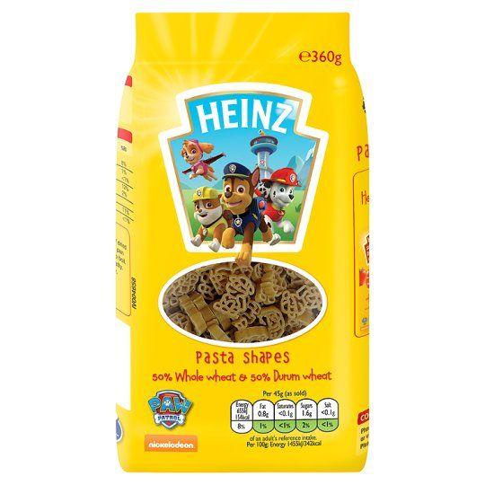 Heinz Paw Patrol Pasta Shapes 360g