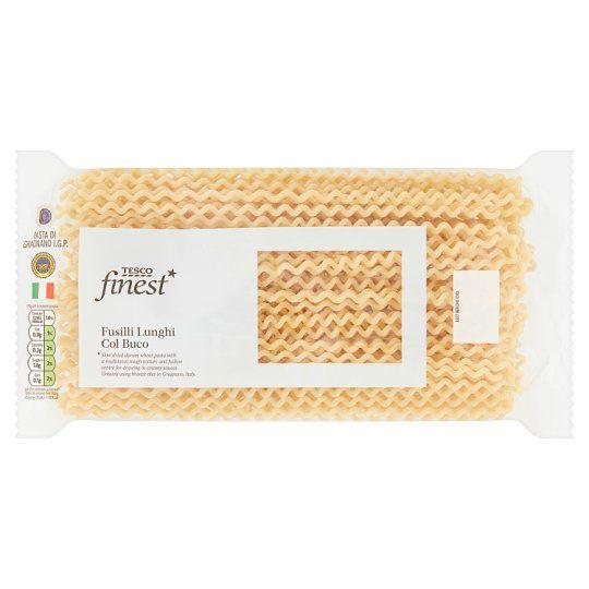 Tesco Finest Fusilli Lunghi Pasta 500g