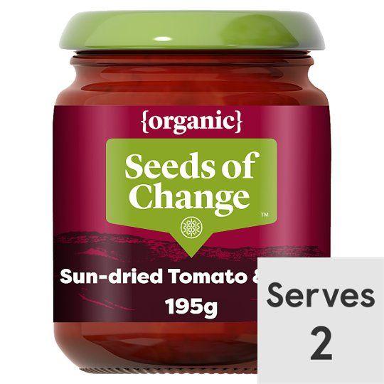 Seeds of Change Organic Sun Dried Tomato Stir/Serve 195g