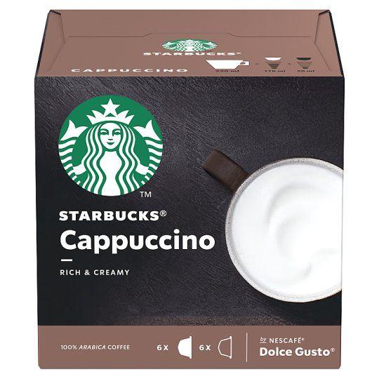 Nescafe Dolce Gusto Starbucks Cappuccino 12 Capsules 120g
