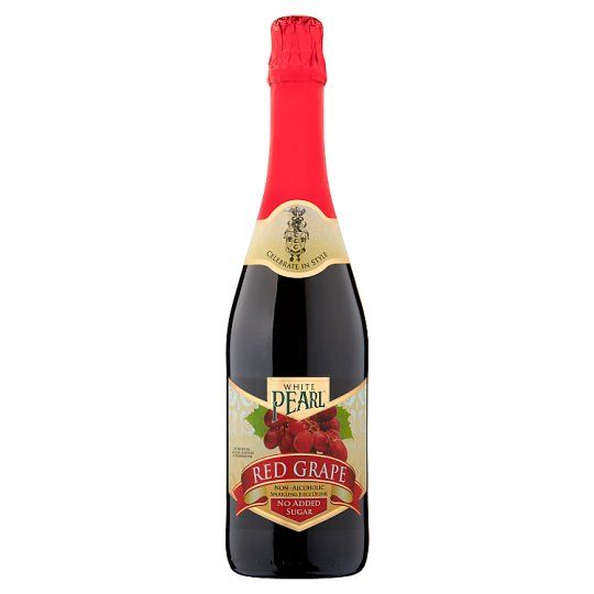 White Pearl No Added Sugar Red Grape Juice Sparkling 750ml