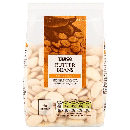 Tesco Butter Beans 375g