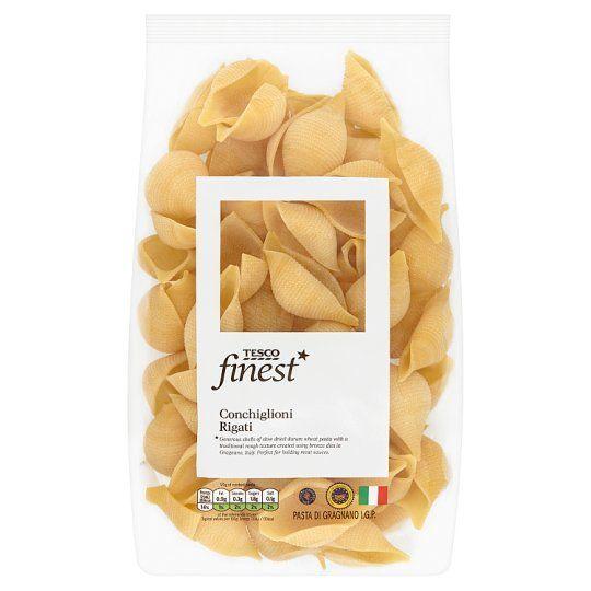 Tesco Finest Pasta Conchiglioni Rigate 500g