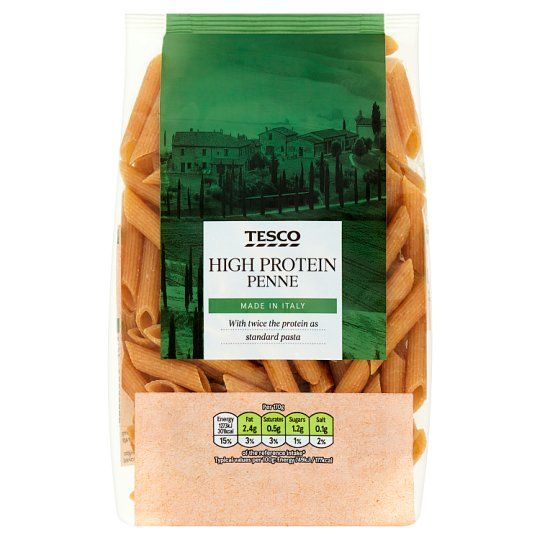 Tesco 30% Protein Penne Pasta 250g