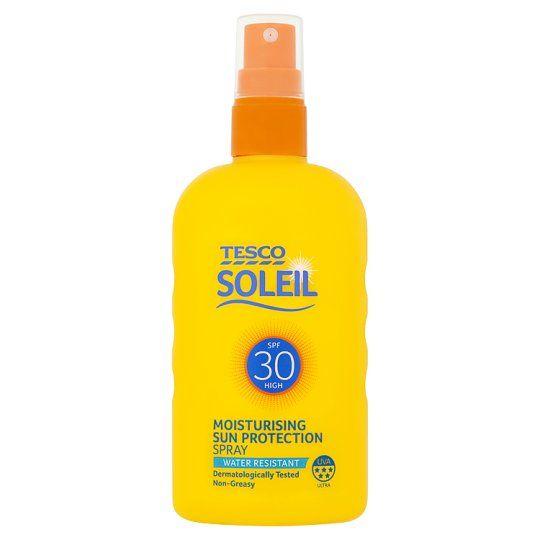 Tesco Soleil Sun Protect Spray Spf30 200ml